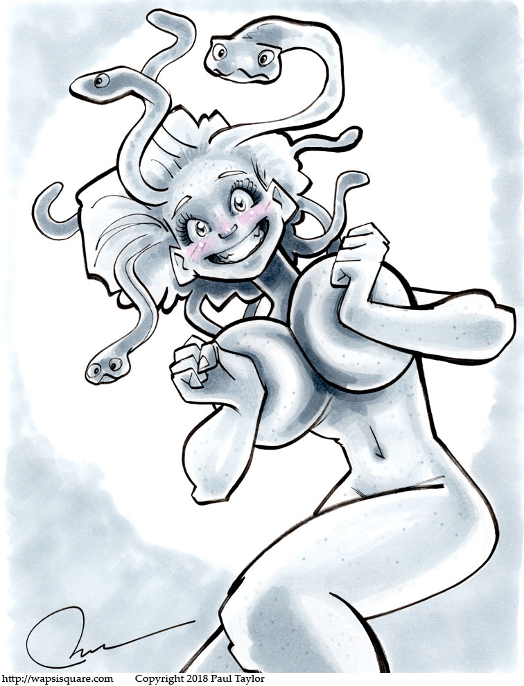 Medusa Happy To See You
