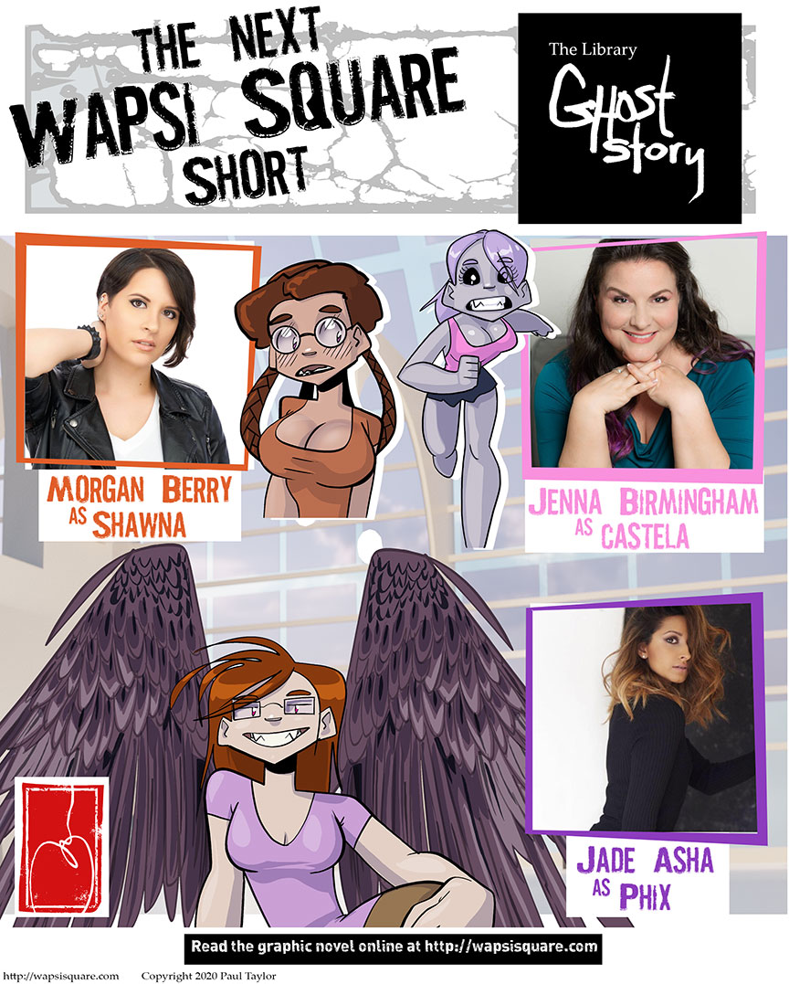 Announcing Voice Actors for Upcoming Short